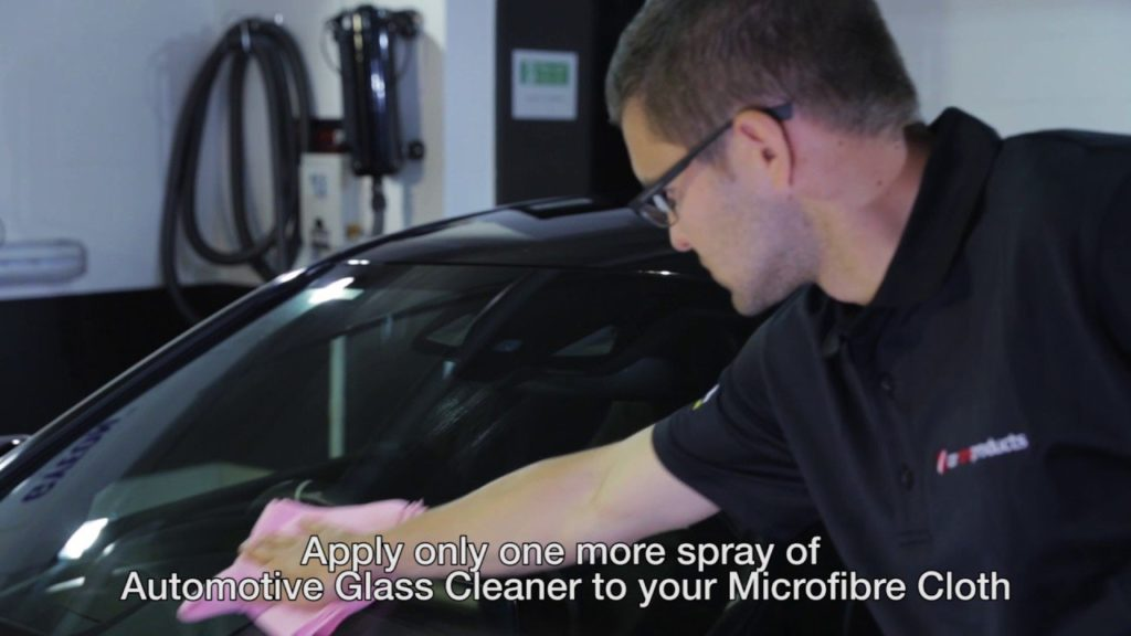 How to Clean your car windscreen - Car Care Products Cleaning Tips & Tricks